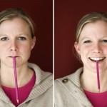 Wie man den Bleistift im Mund hält beeinflußt die Stimmung