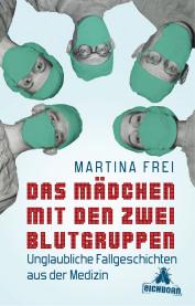 """Buchcover """"Das Mädchen mit den 2 Blutgruppen"""""""