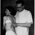 Stoddard (1959) Untersuchung Thorax
